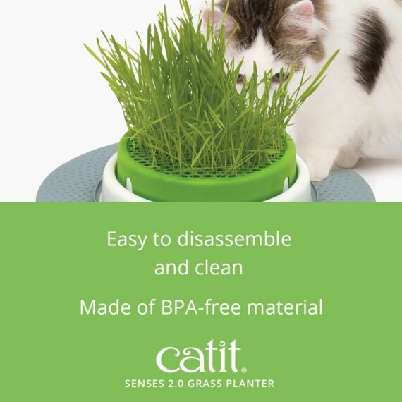 The Grass Planter is made of BPA-free material