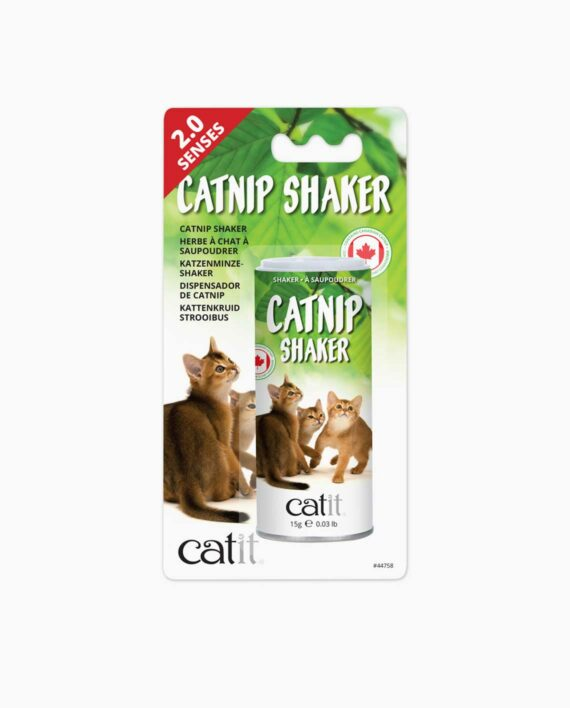 Product packaging of the catnip shaker