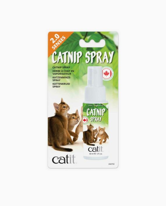 Product packaging of the catnip spray