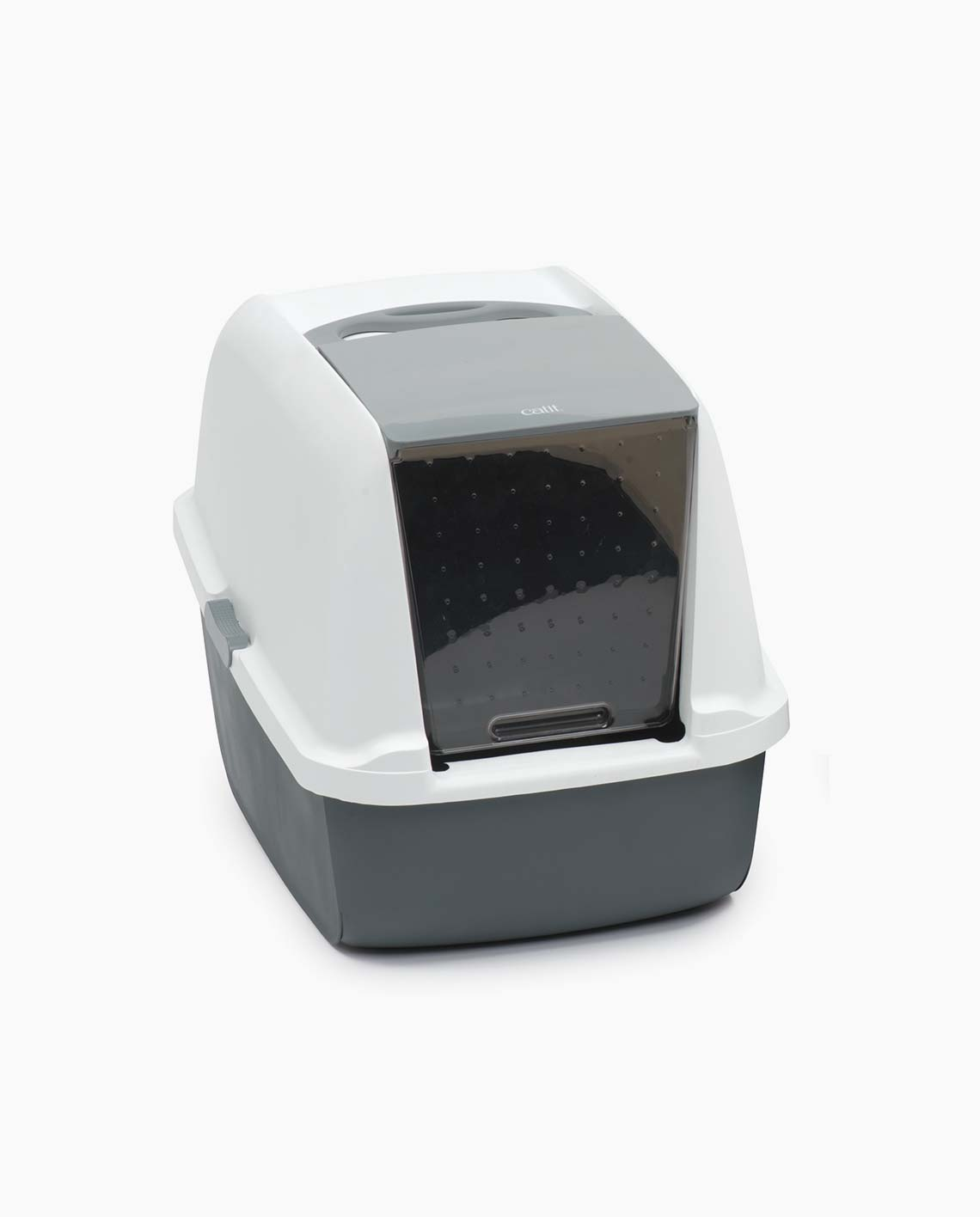 Regular litter box from the front