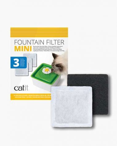 Packaging of the mini flower fountain filter replacement for your mini flower fountain