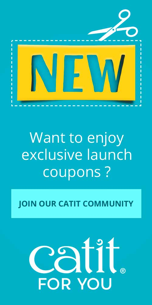 Want to enjoy exclusive launch coupons - Join our Catit community