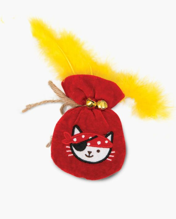 Pirates - Catnip Toy - Pouch of Gold A