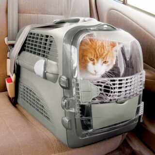 Catit Cabrio can be secured in the car
