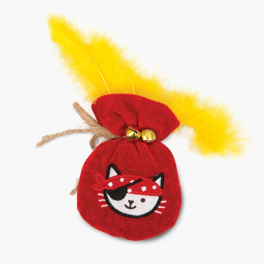 Pirates Catnip Toy – Pouch of Gold