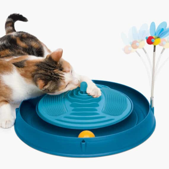 43001 - Circuit Ball Toy with Catnip Massager