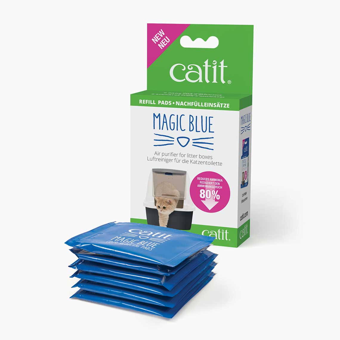 Magic Blue Refill Pads Catit Uk