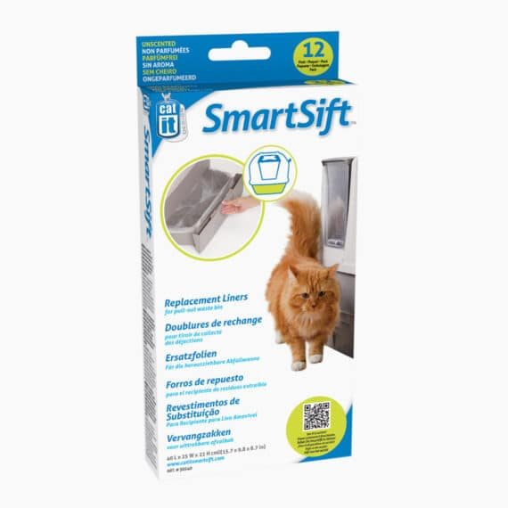 50540 - Catit Design SmartSift Replacement Liners - 12 pack For Cat Pan Base