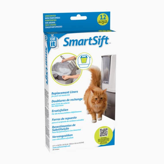 50541 - Catit Design SmartSift Replacement Liners - 12 pack For Cat Pan Base