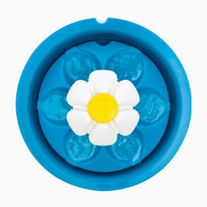 Top view of the Catit LED Flower Fountain