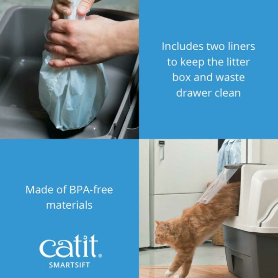 Catit Smartsift is made from BPA-free materials