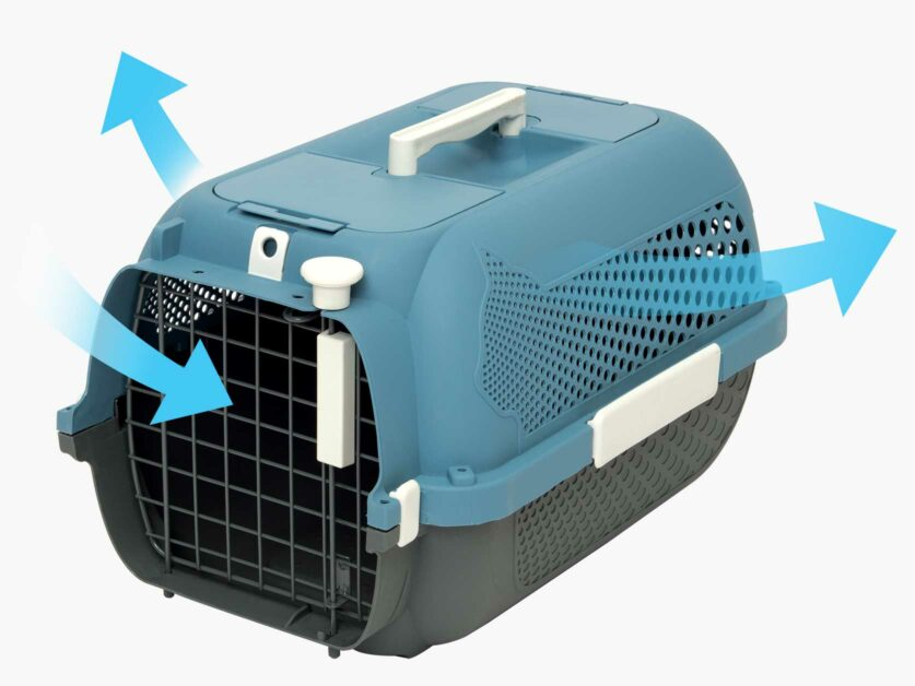 Catit Cat Carrier optimal air flow and ventilation