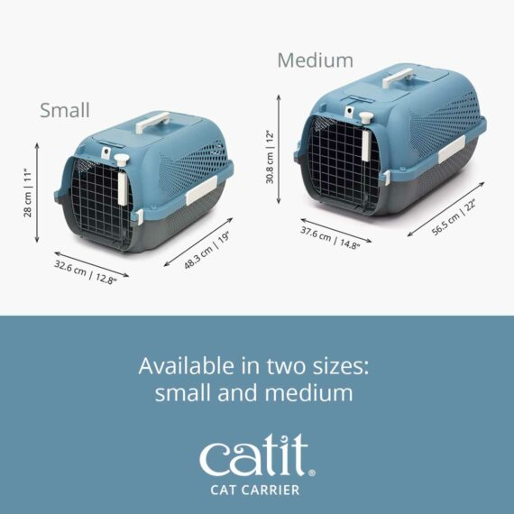 Catit Cat Carrier is available in two size: small and medium