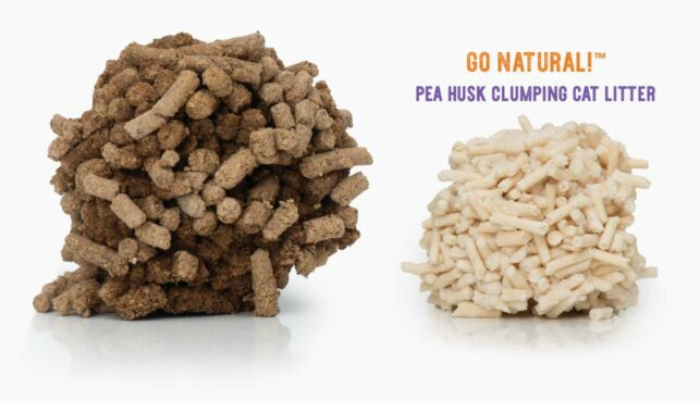 Go Natural Pea Husk comparison with other litter