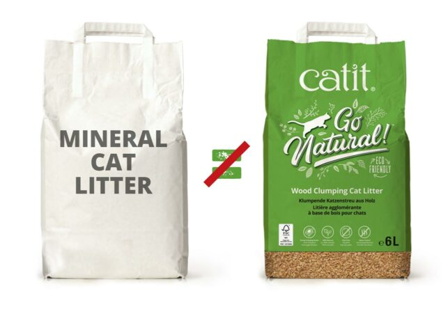 Unlike many mineral cat litters, our litter is produced and packed sustainably, and was formulated exactly right for gradual clumping action and easy scooping