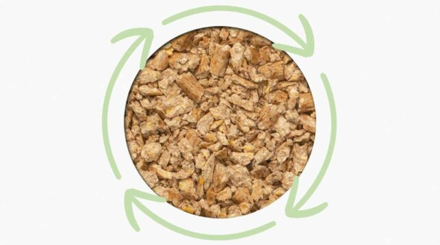 Catit Go Natural is a new range of litters that, unlike many mineral cat litters, are based on sustainable sources