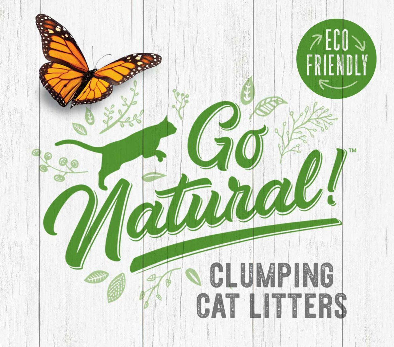 Go Natural Clumping cat litters - eco-friendly