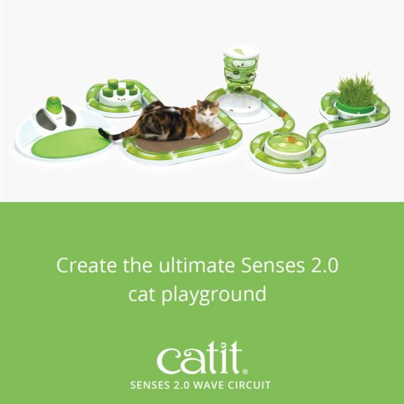 Create the ultimate Senses 2.0 cat playground with the Senses 2.0 Wave Circuit