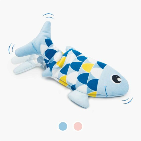 Catit groovy fish blue and pink
