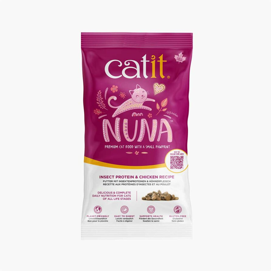 44661 Catit Nuna 150g Insect With Chicken Sample Bag Uk