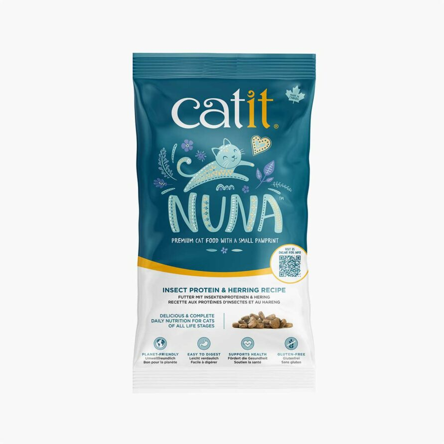 44665 Catit Nuna 150g Insect With Herring Sample Bag Uk
